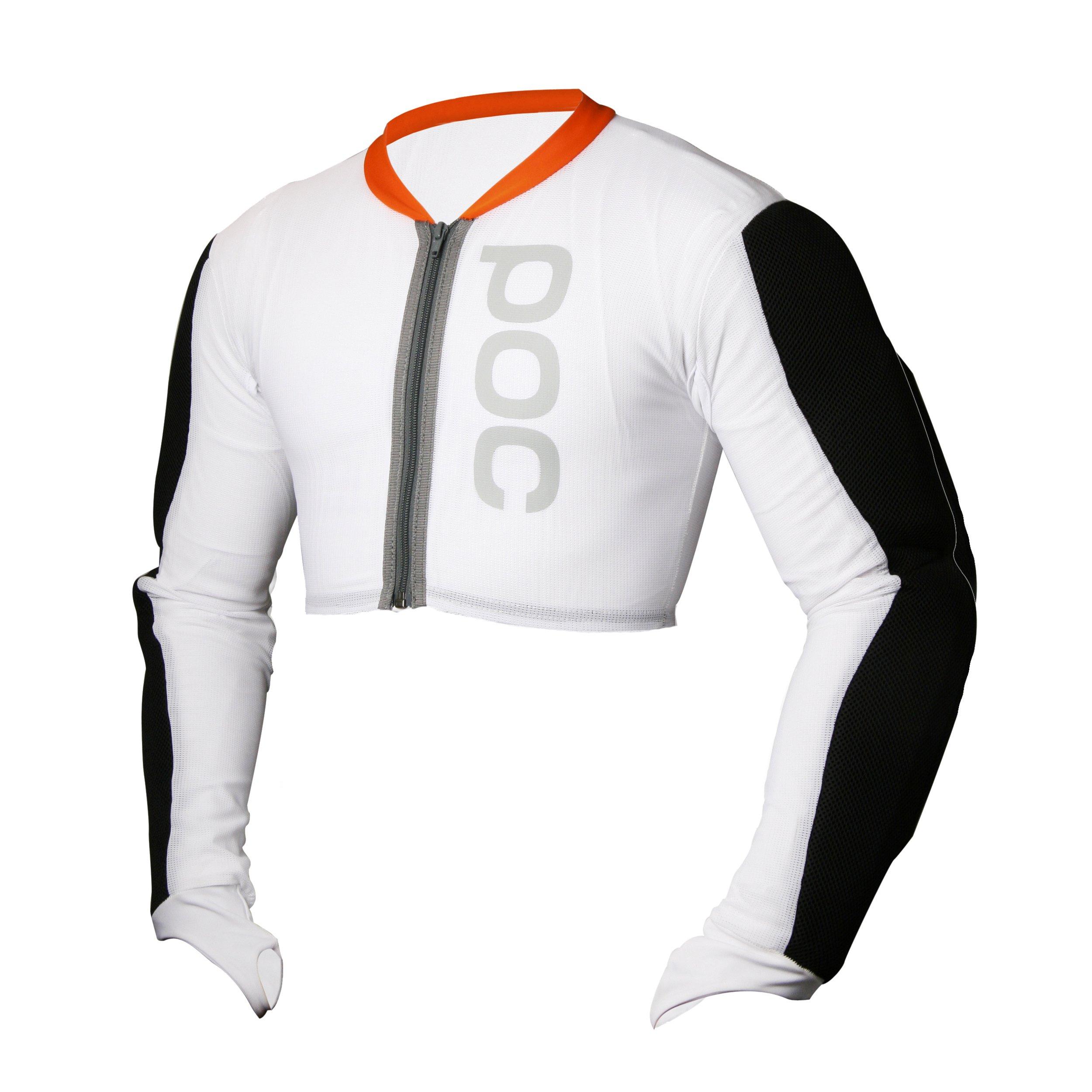 POC Junior Full Arm Jacket (White, Large)