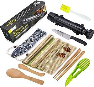 FUNGYAND-Sushi-Bazooka-Maker-with-Bamboo-Mats