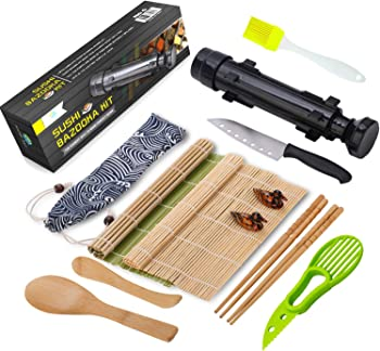FUNGYAND 12 Pieces Sushi Making Kit
