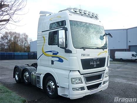 Plafoniera Tetto Auto : In acciaio inox a fit man tga xlx camion anteriore del tetto luce