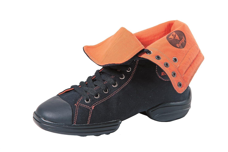 Rumpf 2 Star Turnschuhe Freizeit Dance Tanz Schuh geteilte geteilte geteilte Sohle schwarz Orange 36 c01da4