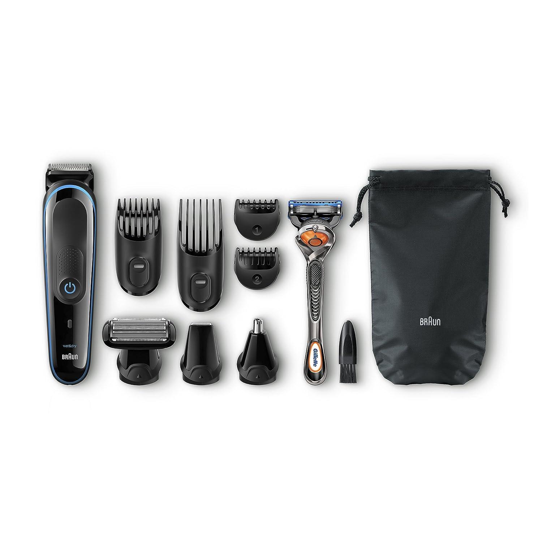 Set de afeitado facial y corporal 9 en 1 Braun MGK 3080