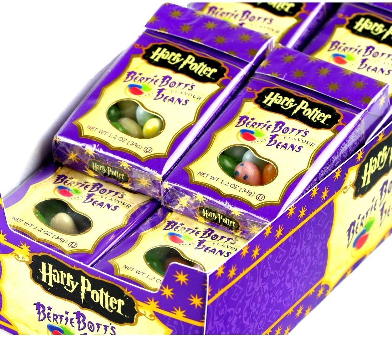 Bertie Bott's Every Flavour Beans - 1.2 oz boxes - 24-Count Case (Pack of 2) by Bertie Bott's (Image #2)