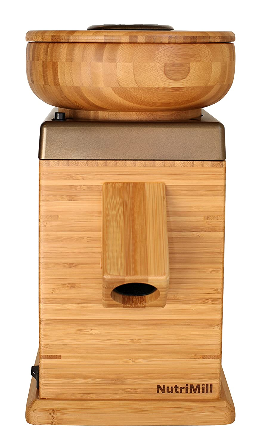 NutriMill Harvest Stone Grain Mill, 450 Watt – Gold