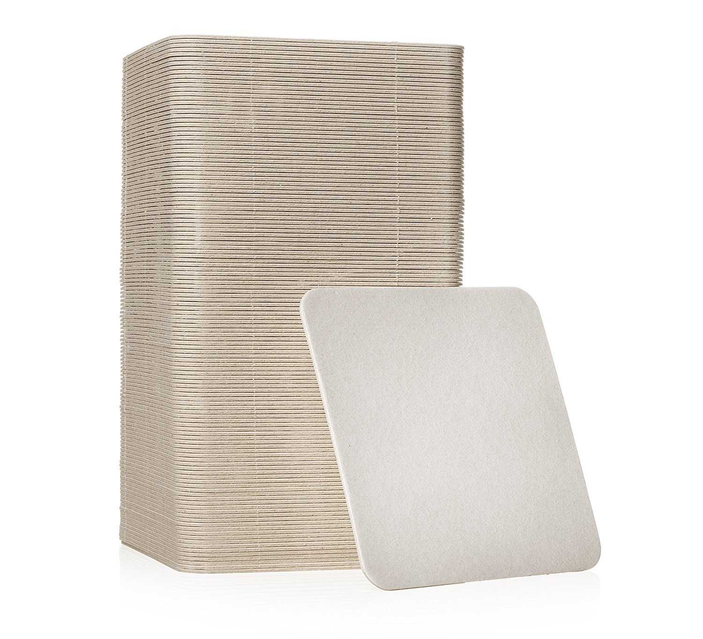 Plain White Coasters (1000, Square)