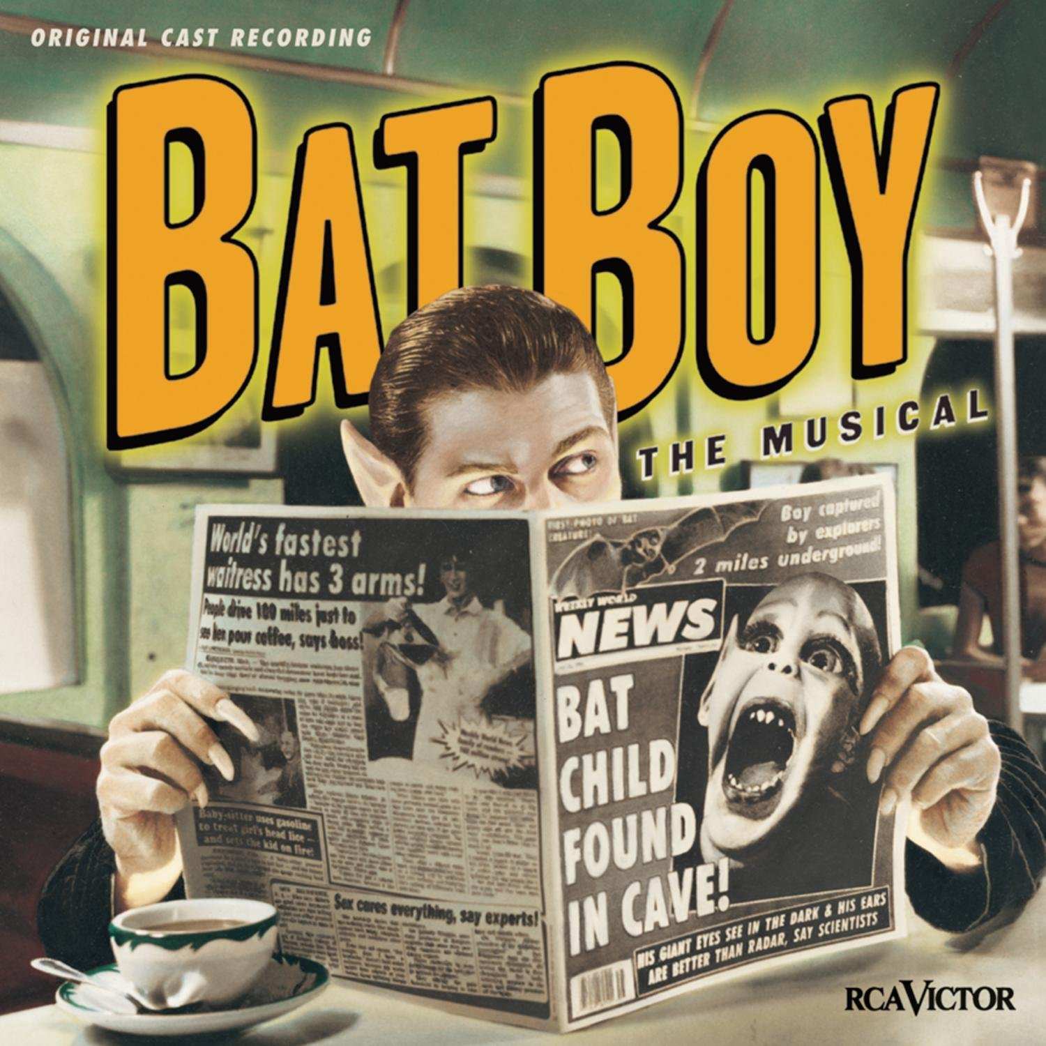 Image result for bat boy the musical