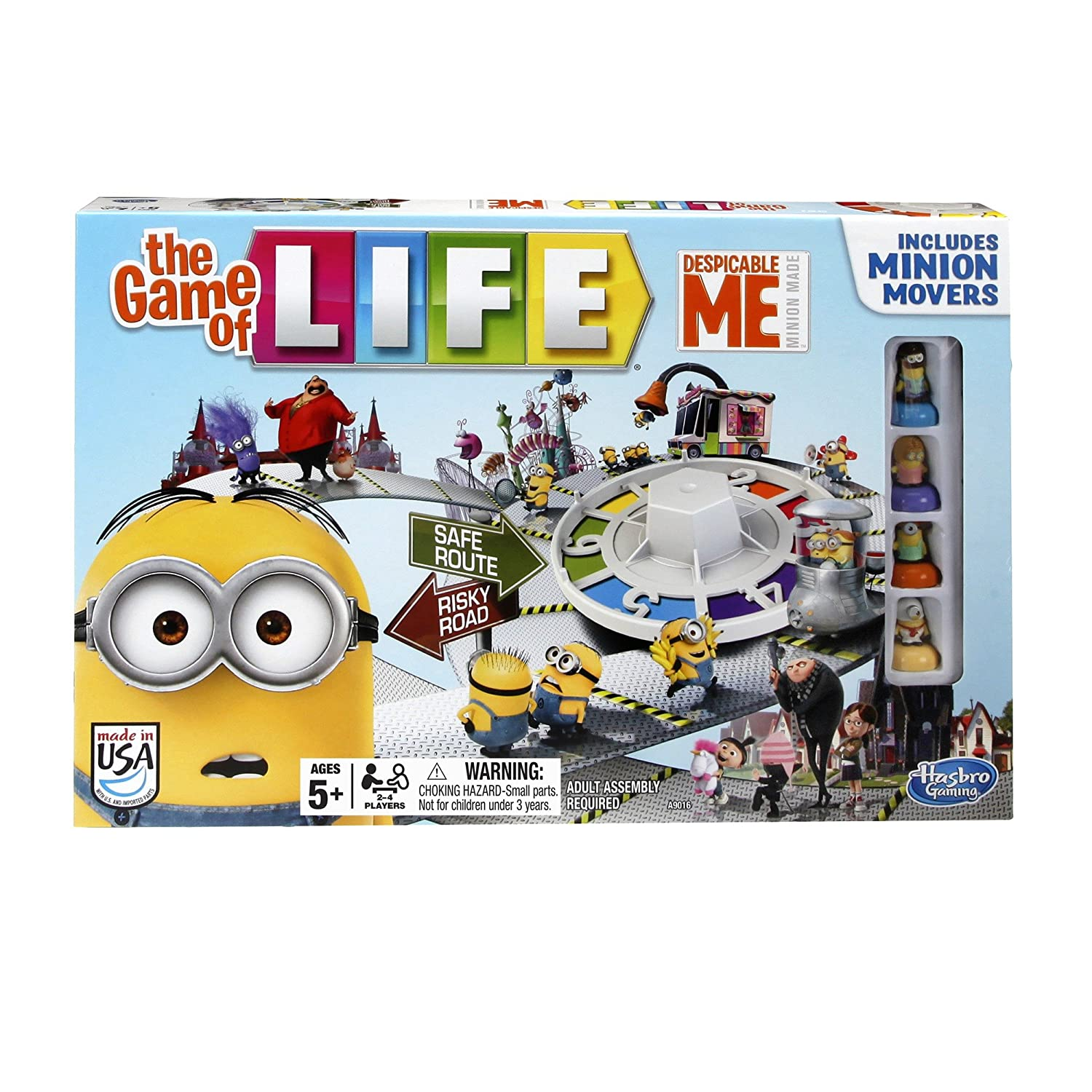Amazon Hasbro Despicable Me Minion The Game Of Life Game Toys