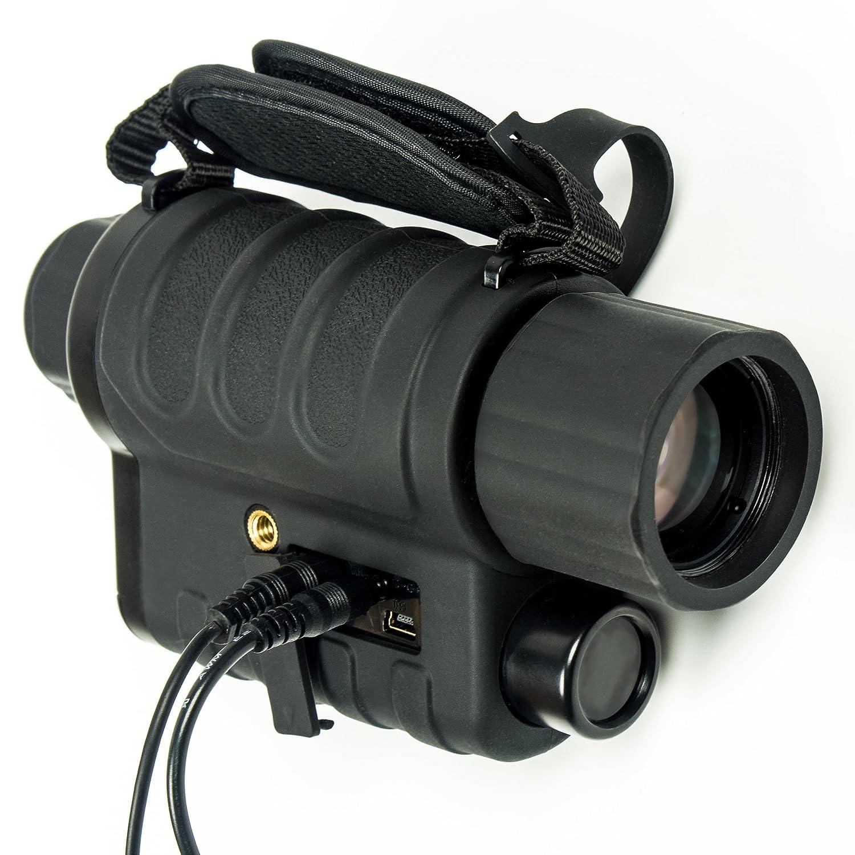 Maginon nv-40d 4 x 35 (Padre) - Monocular digital de visión nocturna y Full color cámara - 2 calidad de imagen Comparable - Luz de día & noche ...