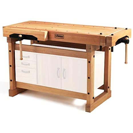 Awesome Sjobergs 33246 1500 Elite Woodworkers Beech Workbench With Two Large Vices And Endless Options Spiritservingveterans Wood Chair Design Ideas Spiritservingveteransorg