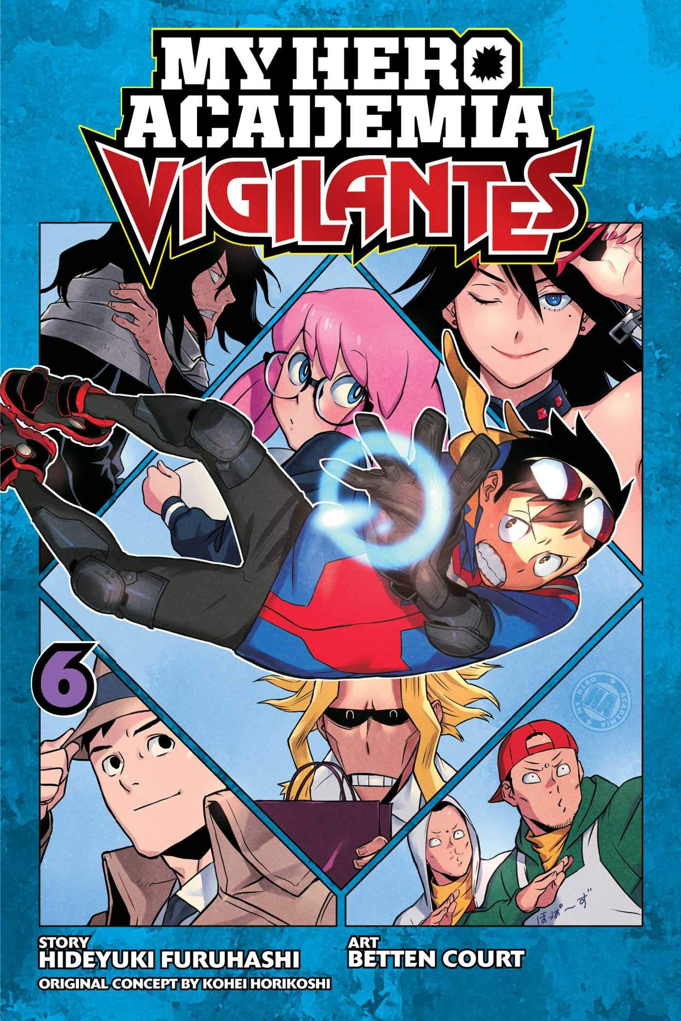 My Hero Academia Vigilantes Vol 6 6 Hideyuki Furuhashi