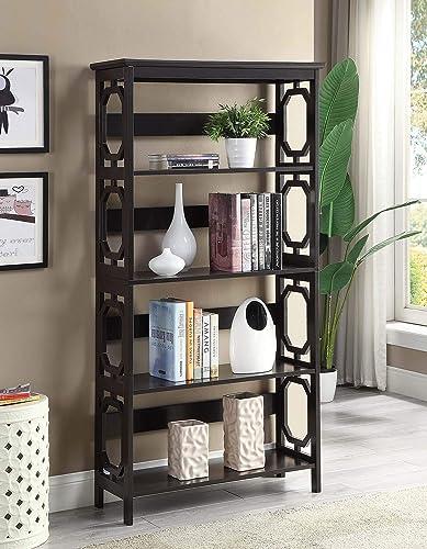 Convenience Concepts Omega 5 Tier Bookcase