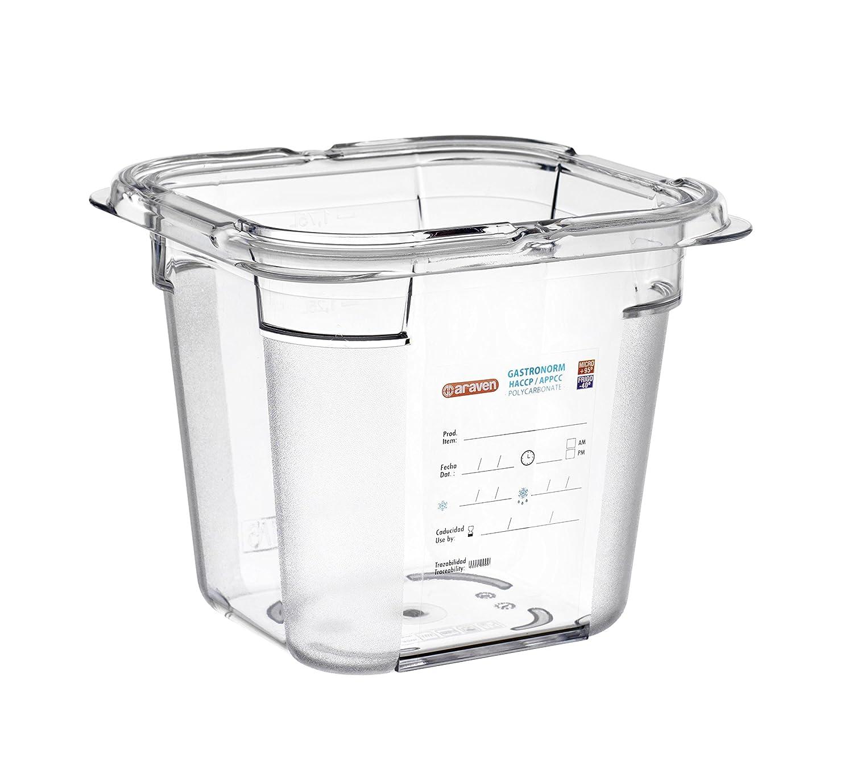 araven, 09798, Polycarbonate Food Box, 2.2 Quart