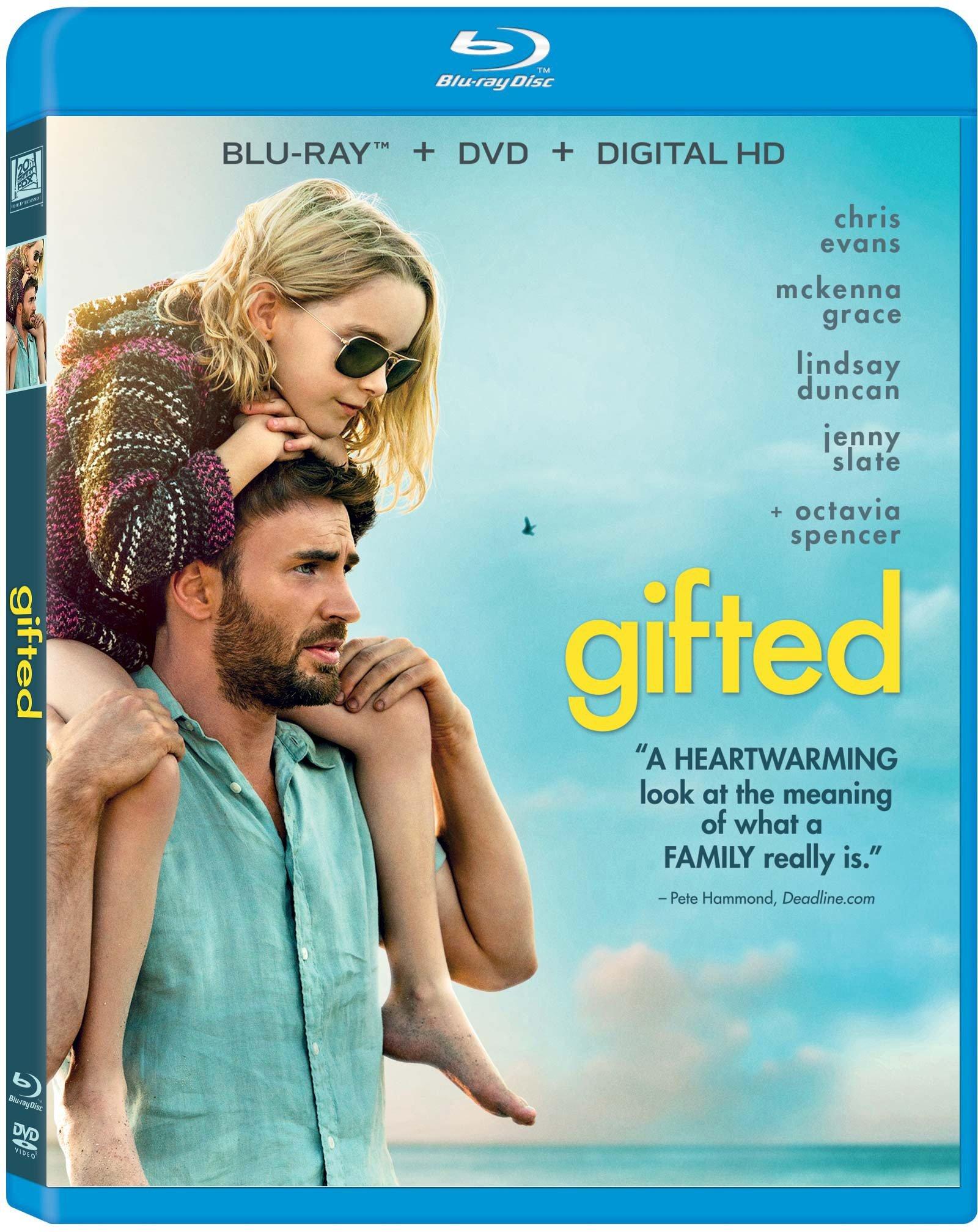 Blu-ray : Gifted (Blu-ray)