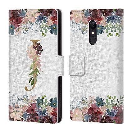 Amazon.com: Official Nature Magick Letter J Flowers Monogram Floral ...