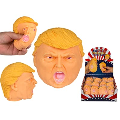 Squeeze The President Anti Stress Ball Donald Trump: Home & Kitchen