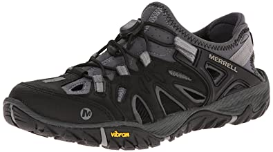 Amazon.com | Merrell Men's All Out Blaze Sieve Water Sandal ...