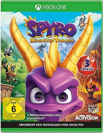 Spyro Reignited Trilogy - Xbox One [Importación alemana]: Amazon ...