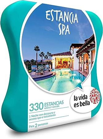 Smartbox La Vida es Bella - Caja Regalo - Estancia SPA - 330 hoteles de hasta 5* con Acceso a SPA: Amazon.es: Deportes y aire libre