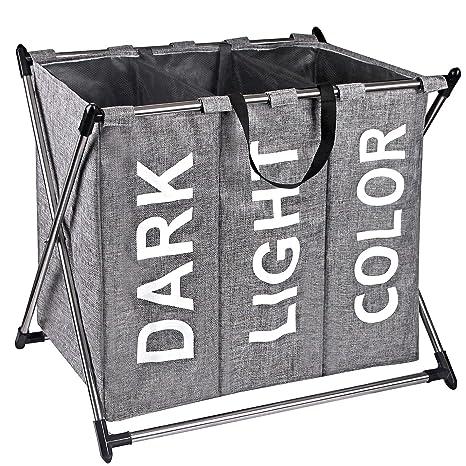 Amazon.com: X-cosrack clasificador de cesta para la colada ...