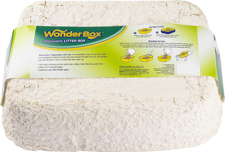 Kitty's WonderBox Disposable Litter Box, Medium, 3-Count: Pet Supplies