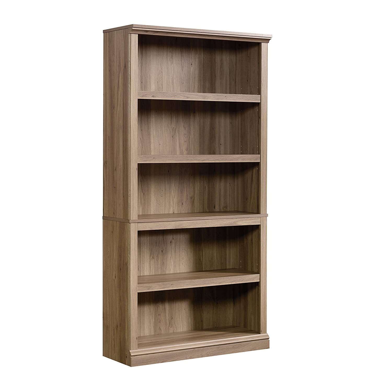 Sauder 420174 5-Shelf Bookcase 5, Lintel Oak Sauder Woodworking Company