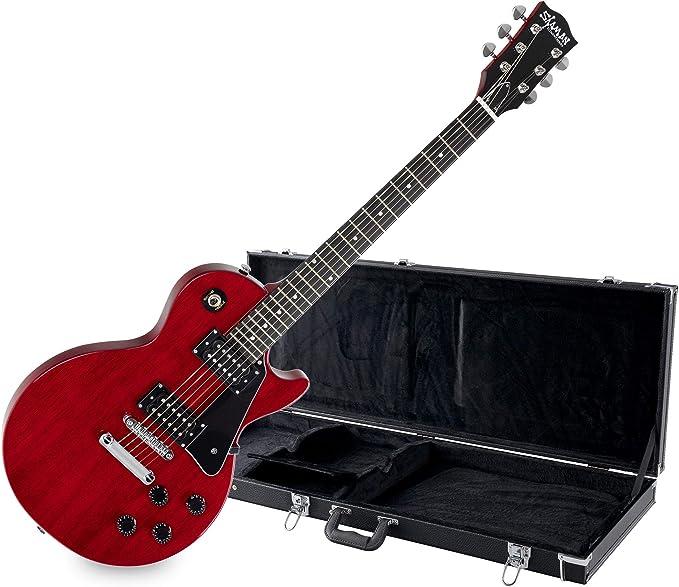 Shaman Element Series SCX-100R - Guitarra eléctrica (incluye estuche): Amazon.es: Instrumentos musicales