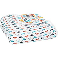 Aden and Anais Zutano Pup in Tow Classic Muslin Dream Blanket, Multi