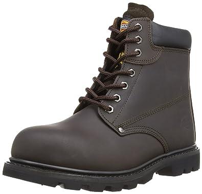 Amazon.com | Dickies Unisex Cleveland Super Steel Toe-cap Safety ...