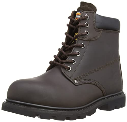 c86deb43c7c Dickies Mens Workwear Cleveland Super Safety Boot Dark Brown ...