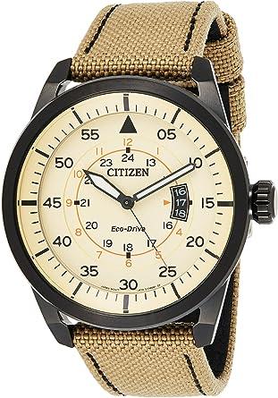 Citizen - Reloj de Cuarzo para Hombre, con Correa de Nylon: Amazon.es: Relojes