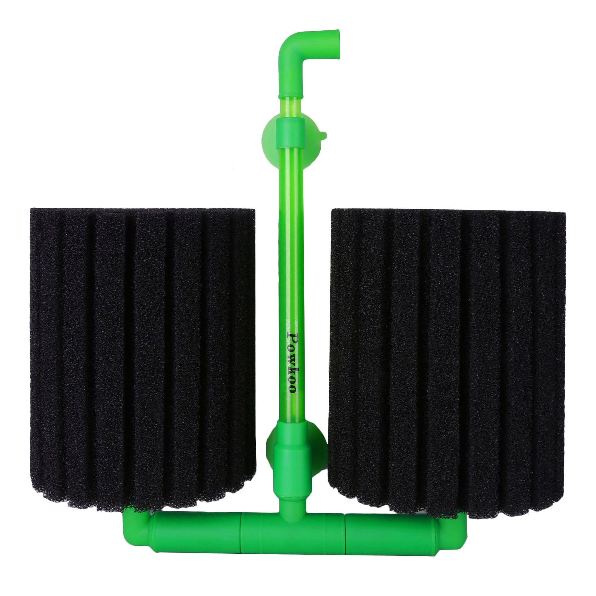 Powkoo Aquarium Sponge Filter Fish Tank Air Pump Sponge Filter Bio Prefilter (XL)