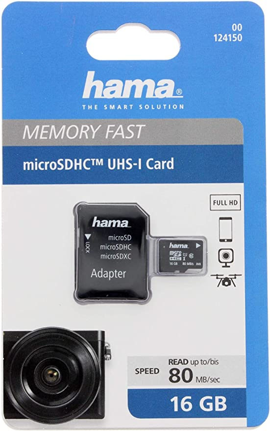 Hama Microsdhc 16gb Class 10 Uhs I 80mb Computer Zubehör