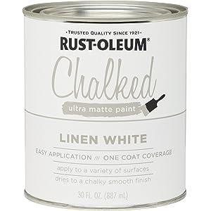Rust-Oleum 285140 Ultra Matte Interior Chalked Paint 30 Oz