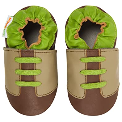Moccasin Momo Baby Boys Soft Sole Leather Shoes
