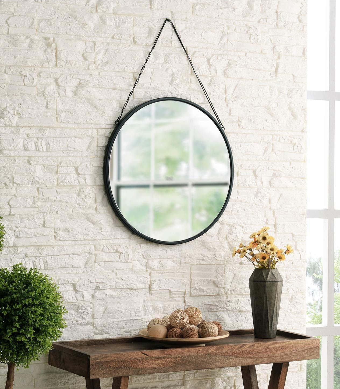 MOTINI Round Mirror Circle Wall Hanging Mirror 20 Inch