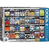 "Eurographics ""VW Bus Cool (Puzzle 1000p, multicolore)"