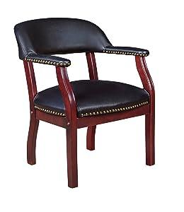 Regency Ivy League Captain Chair, Black
