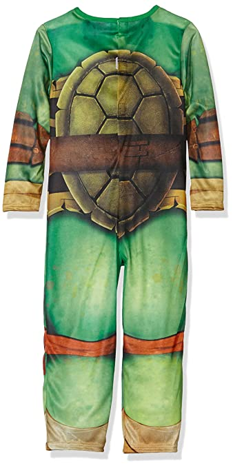 Disfraz de Tortuga Ninja para niños, talla infantil 7-8 años (Rubies 610525-L)