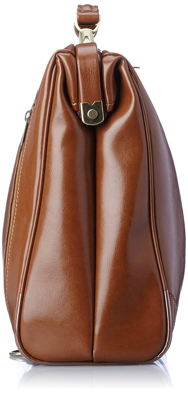 EVERWIN 3-Way Doctors bag Satchel bag MADE in JAPAN 21592 Camel