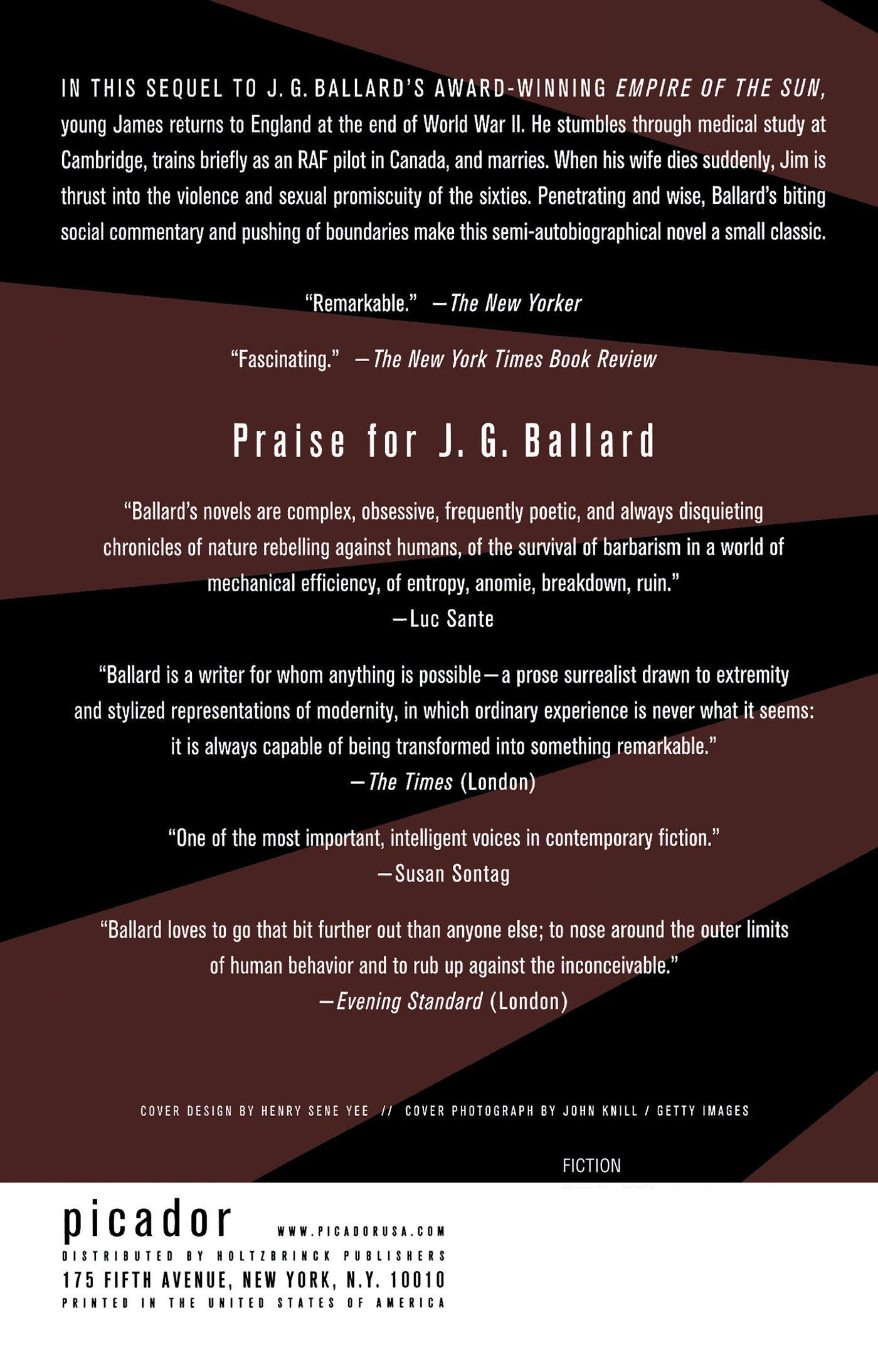 The Kindness Of Women: A Novel: J G Ballard: 9780312422844: Amazon:  Books