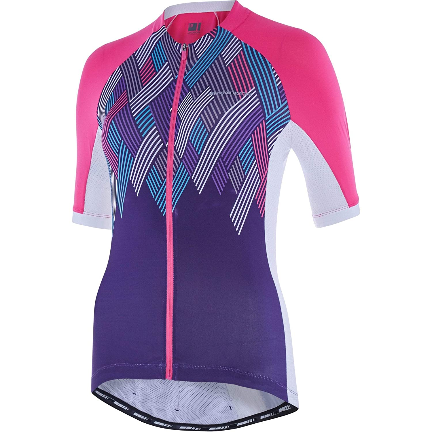 Madison Pink Glo-Purple Velvet Crosshatch 2018 Sportive Womens Short  Sleeved Cyc  Amazon.co.uk  Sports   Outdoors 46dfab226