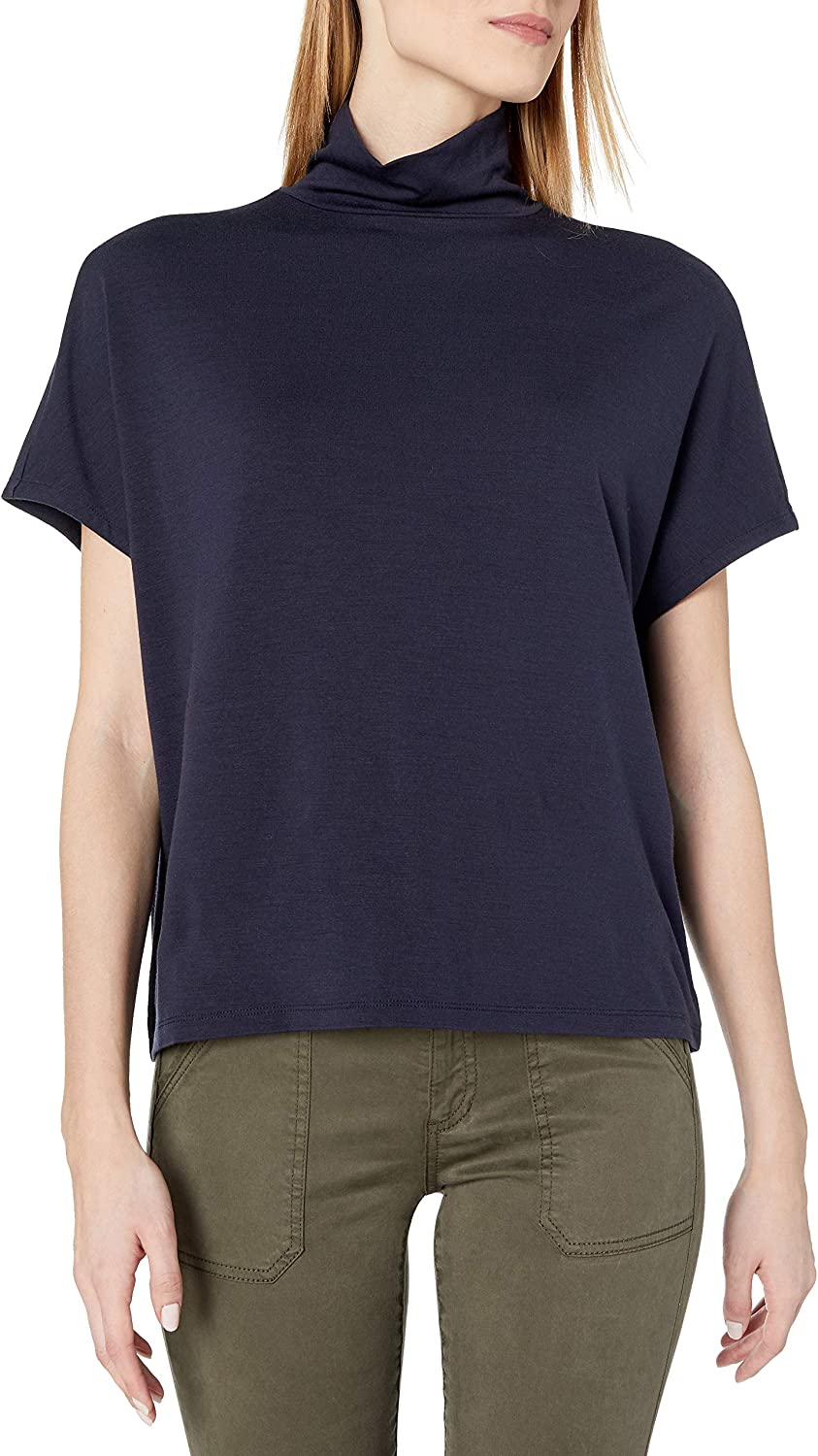 Amazon Brand - Daily Ritual Women's Soft Rayon Jersey Slouchy Pullover Top