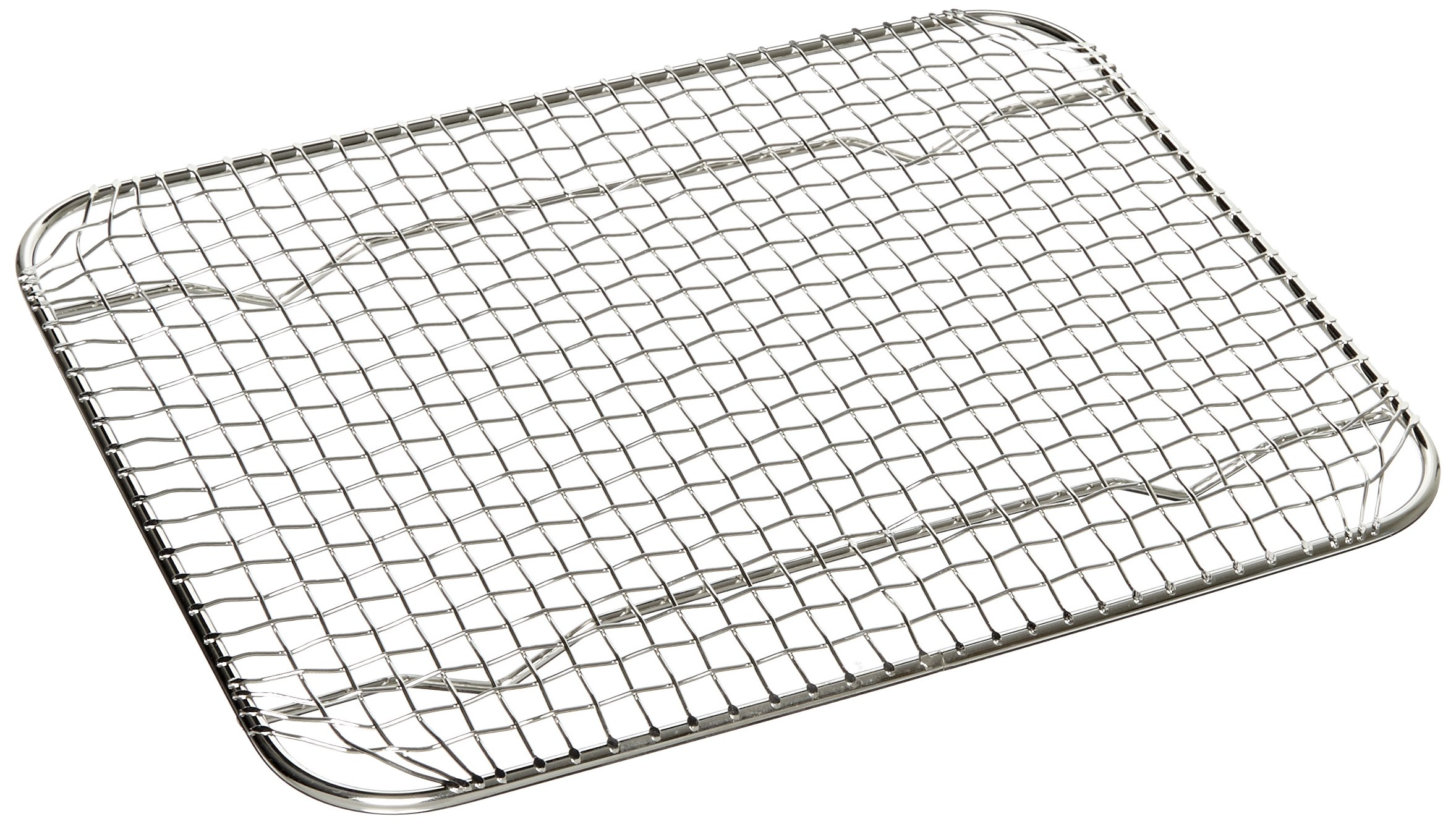 Carlisle 602203 DuraPan Stainless Steel 18-8 Drain Grate, 8.5'' Length x 10.5'' Width, For Half-Size Food Pan (Case of 6)
