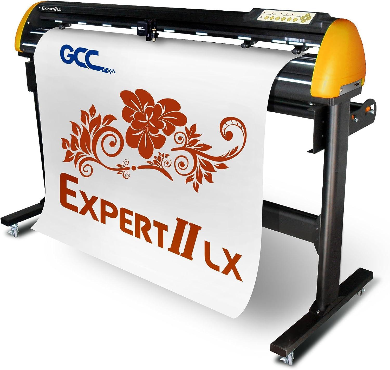 GCC Expert II EX II de 52LX Plóter Amarillo/Negro: Amazon.es: Informática