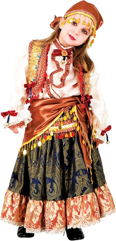 chiber Disfraces Disfraz de Niña Zíngara (Talla 10): Amazon.es ...