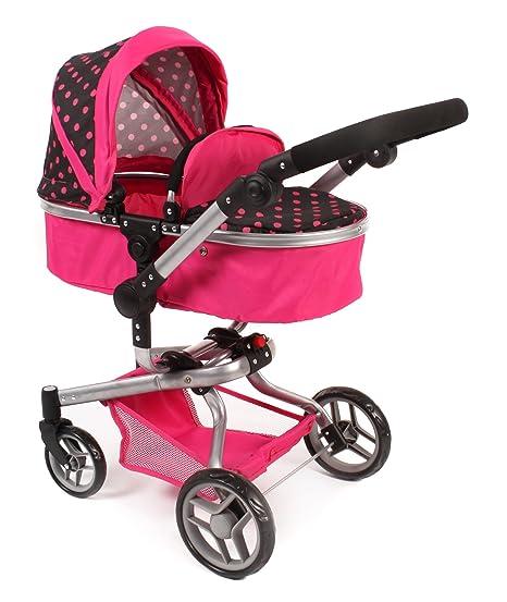 Bayer Chic YOLO 2000 593 05 - Carrito para muñecas, color rosa