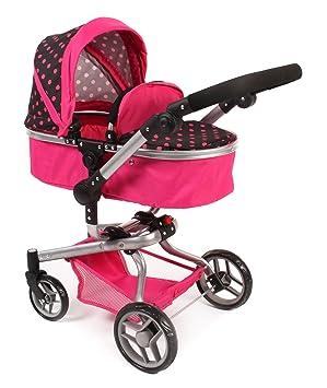 Amazon.es: Bayer Chic YOLO 2000 593 05 - Carrito para muñecas, color rosa: Juguetes y juegos