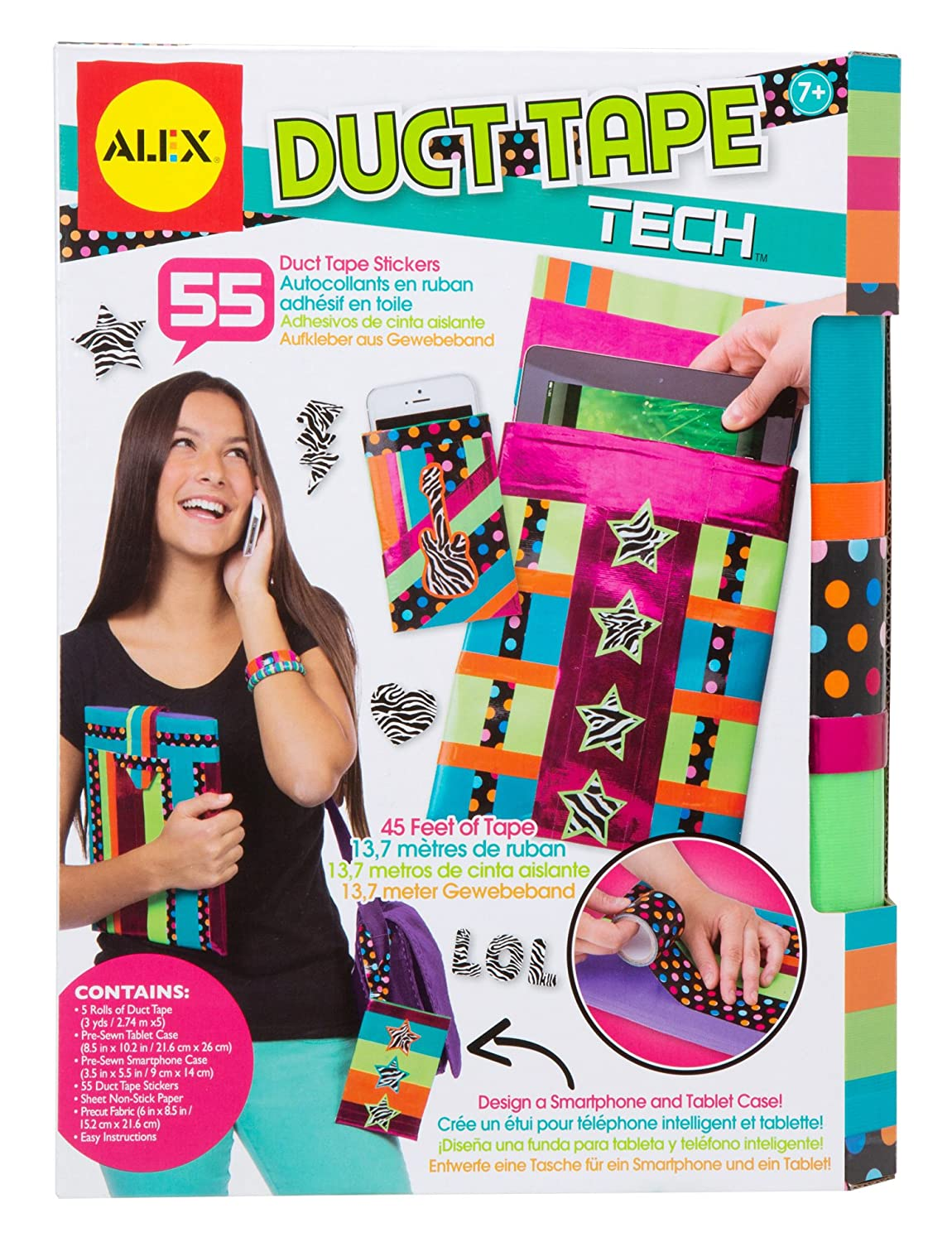 Duct tape crafts kits - Amazon Com Alex Toys Do It Yourself Wear Duct Tape Tech Kit Toys Games