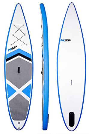 NSP 12-foot0-inch Sillón hinchable Stand Up Paddle de tabla de surf