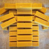 32 Pure Beeswax blocks - 100% pure and natural beeswax